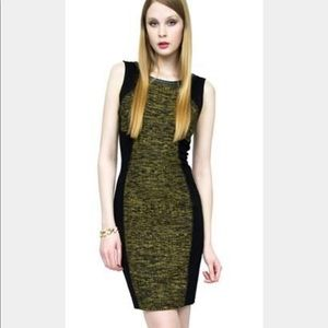 Anthro Yoana Baraschi Power Morph Tweed Dress